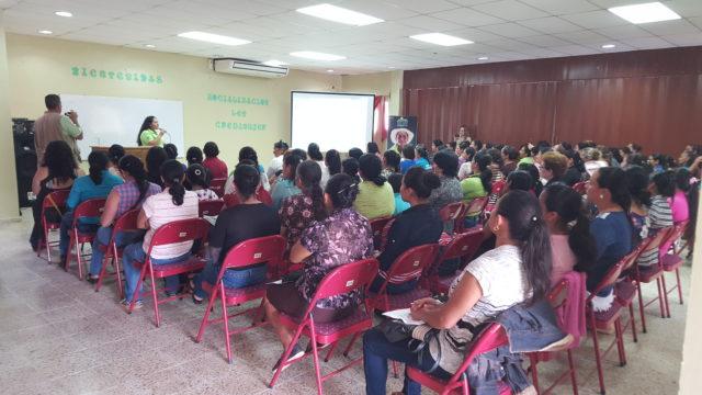 Socialización de Ley Credimujer en el Occidente de Honduras